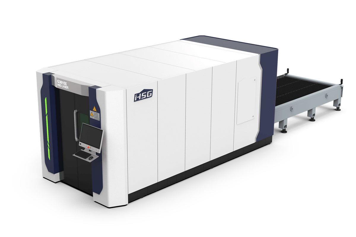 G3015X Plaka Lazer Kesim Makinesi