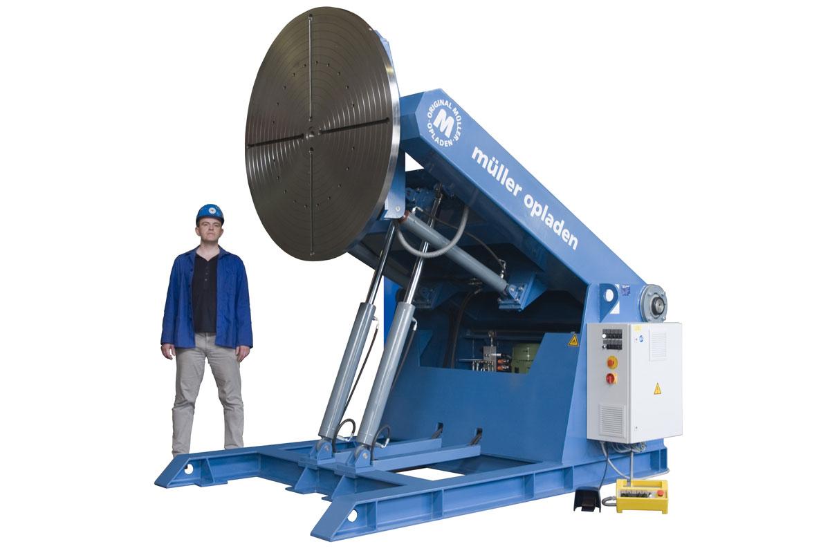 MO-DT-15000-HV Hidrolik Yükseklik Ayarlı Kaynak Pozisyoneri