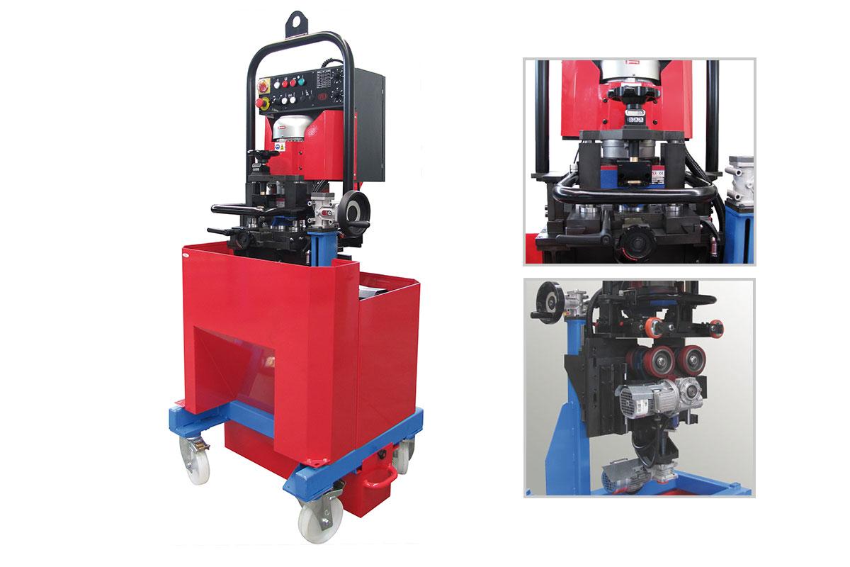ART 910 Otomatik İlerlemeli Kaynak Ağzı Açma Makinesi