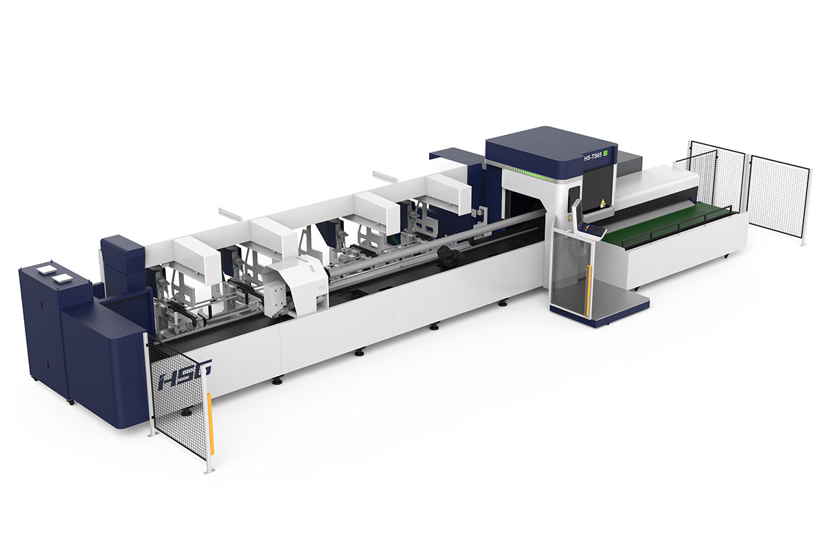 TS65 boru profil fiber lazer kesim makinesi