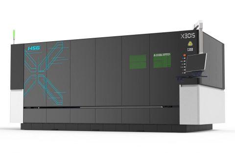 HSG X Serisi Lazer Plaka Kesim Makinesi