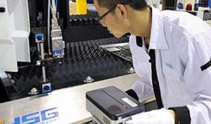 Lazer interferometre kontrolü