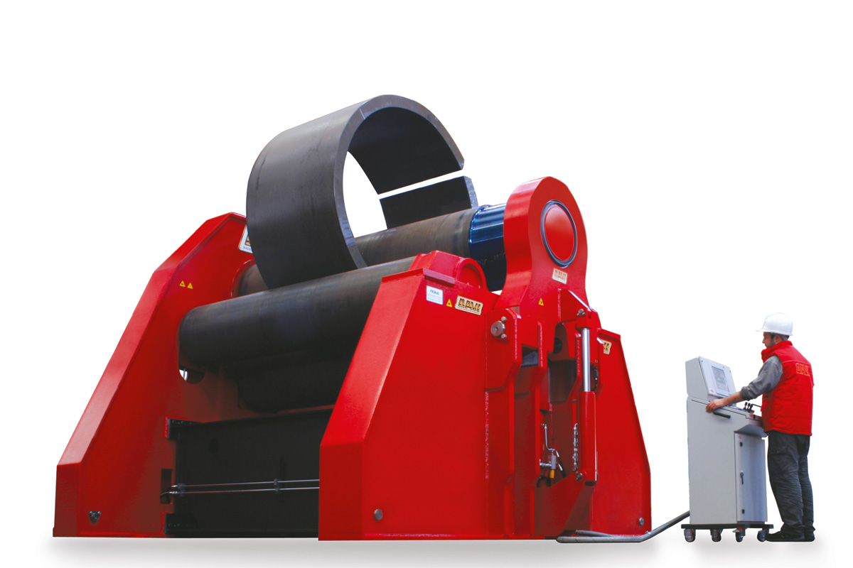 MCB – Dört Valsli Silindir Makineleri
