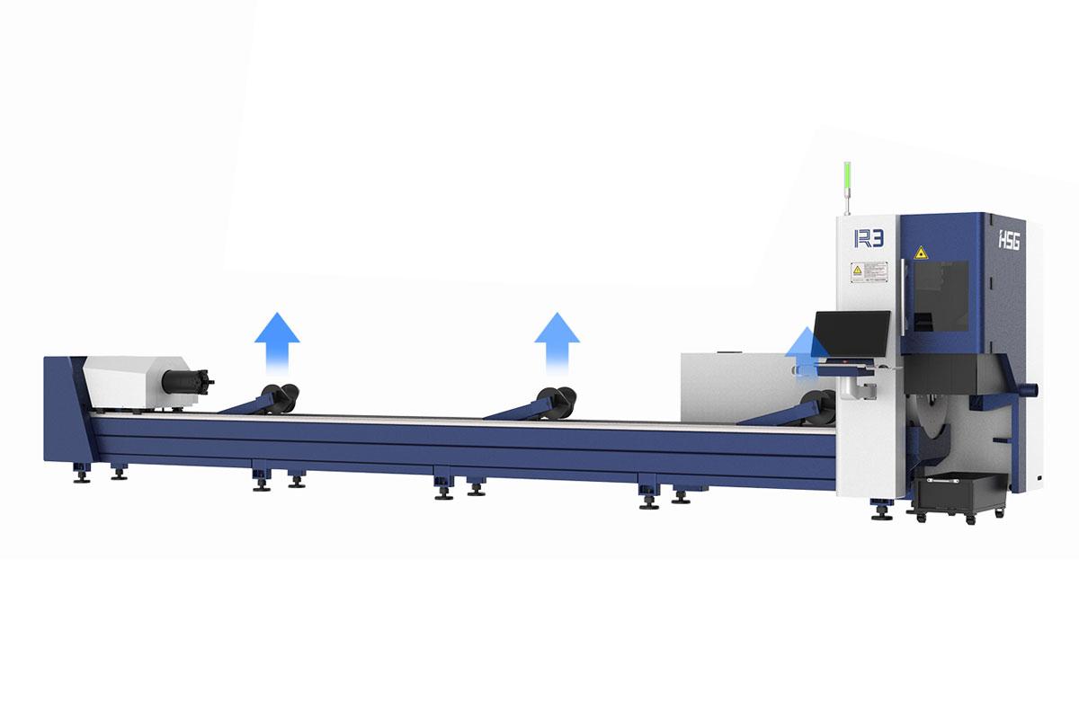 R3 Fiber Boru & Profil Lazer Kesim Makinası