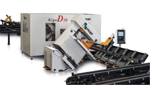 TIPO D50-F Yüksek Hızlı Köşebent İşleme Hatları